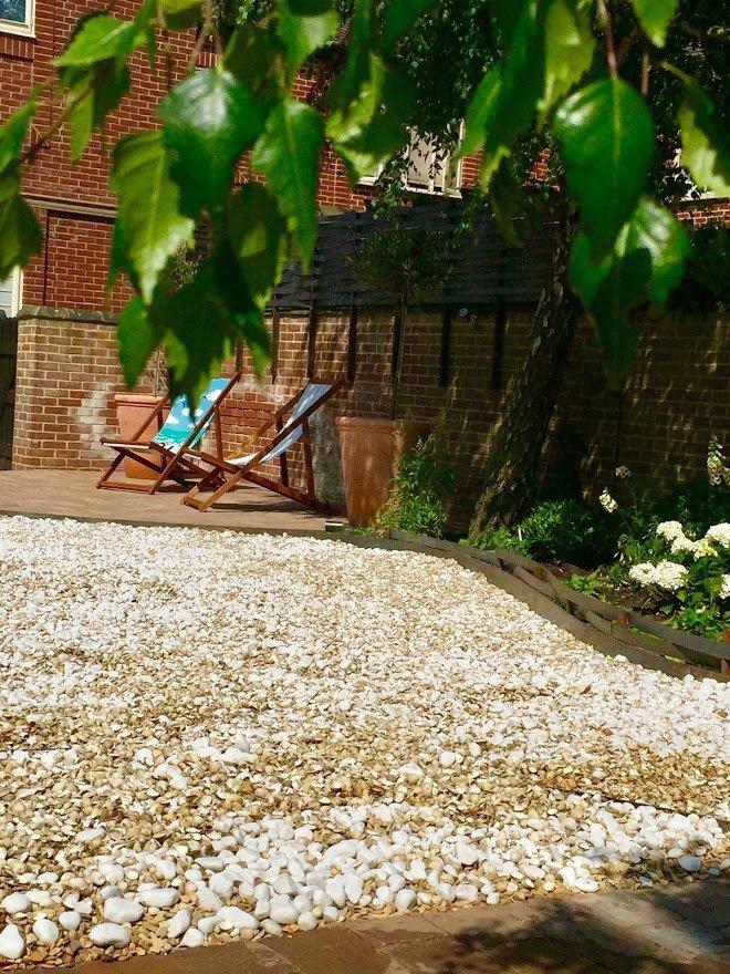 Medium sized Courtyard Garden Design
