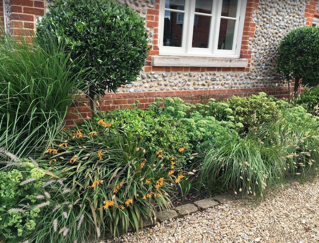 Low Maintenance Garden Beds and Borders in Brancaster Garden Design